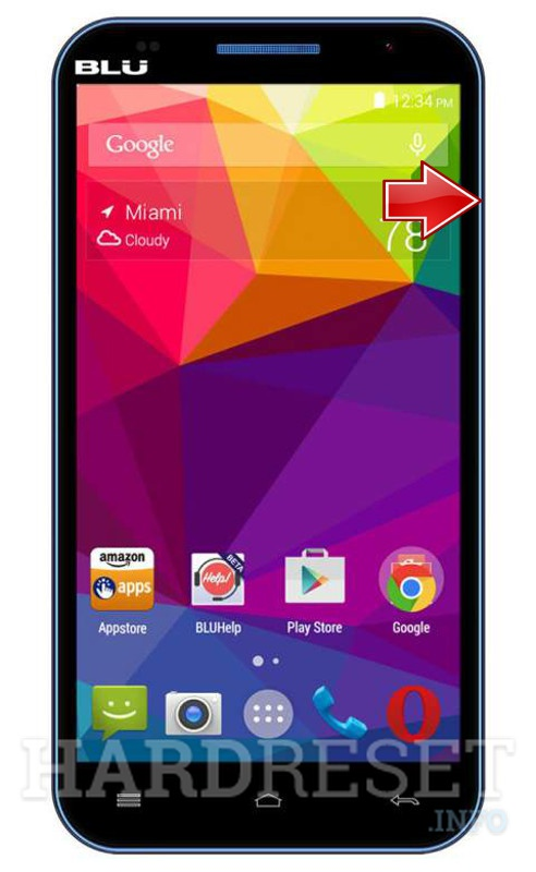 Remove screen password on BLU Neo 5.5 N030L