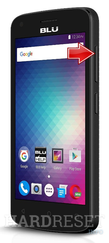 Remove screen password BLU Neo X Mini N150L