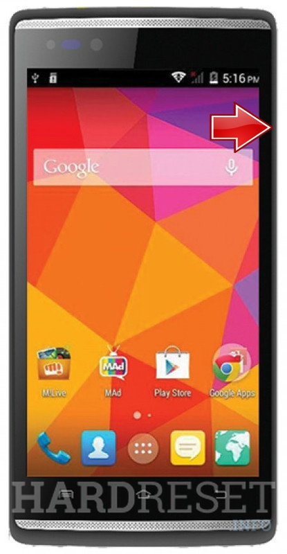 Recovery Mode MICROMAX Canvas Fire 4G Q411 - HardReset info