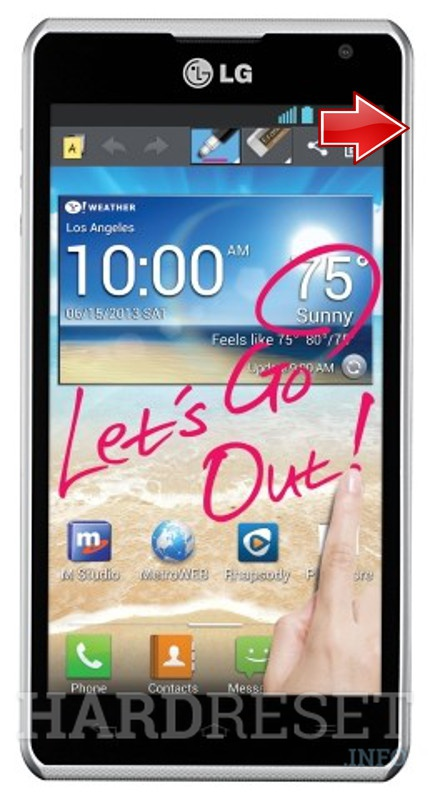 Wipe data LG Spirit 4G MS870