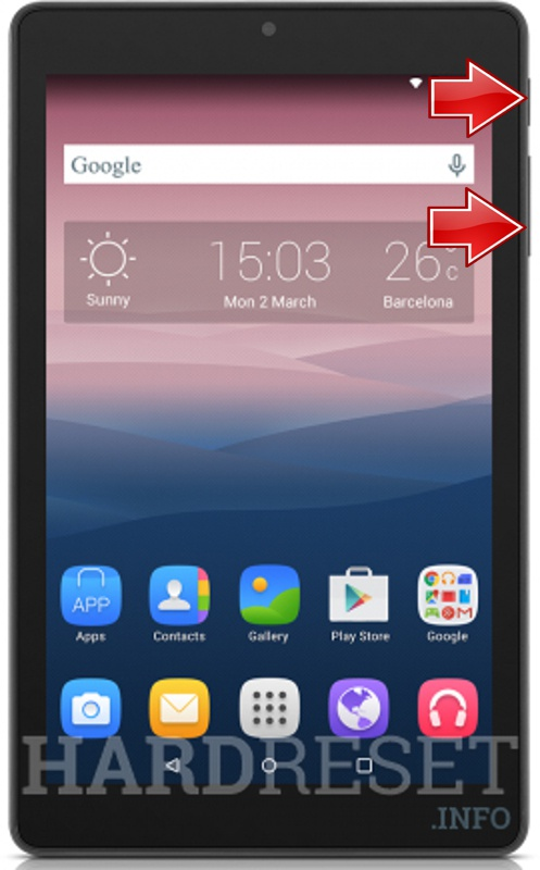 Permanently delete data from ALCATEL One Touch Pixi 3 (8) WiFi