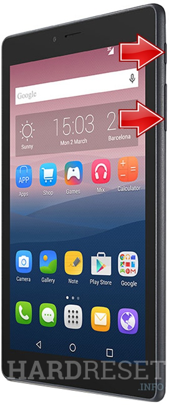 Permanently delete data from ALCATEL 9003X OneTouch PIXI 4 (7) 3G