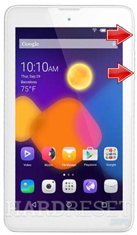 Permanently delete data from ALCATEL 8055 One Touch Pixi 3 (7) WiFi