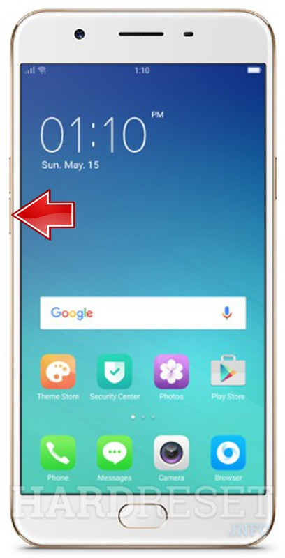 Permanently delete data from OPPO F1s A1601