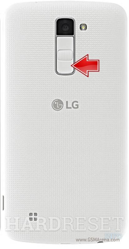 Fastboot Mode LG K10 LTE - HardReset info