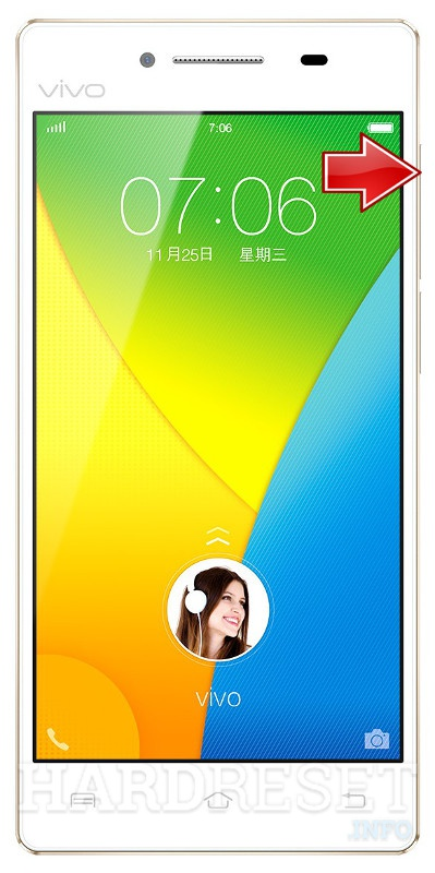 Wipe data on VIVO Y51L