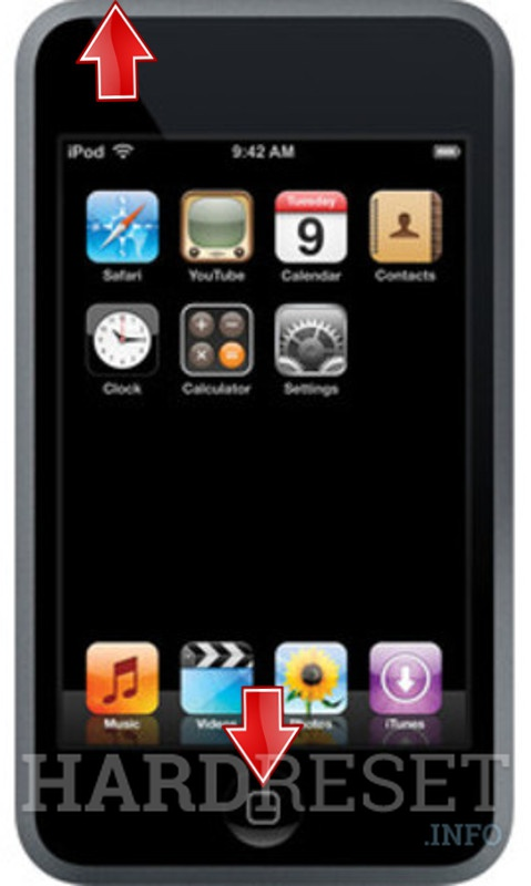 Hard Reset APPLE iPod Touch (1th generation)