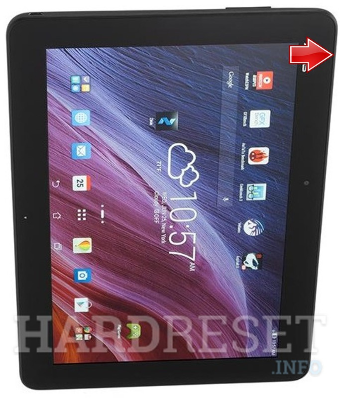Hard Reset ASUS TF103C Transformer Pad