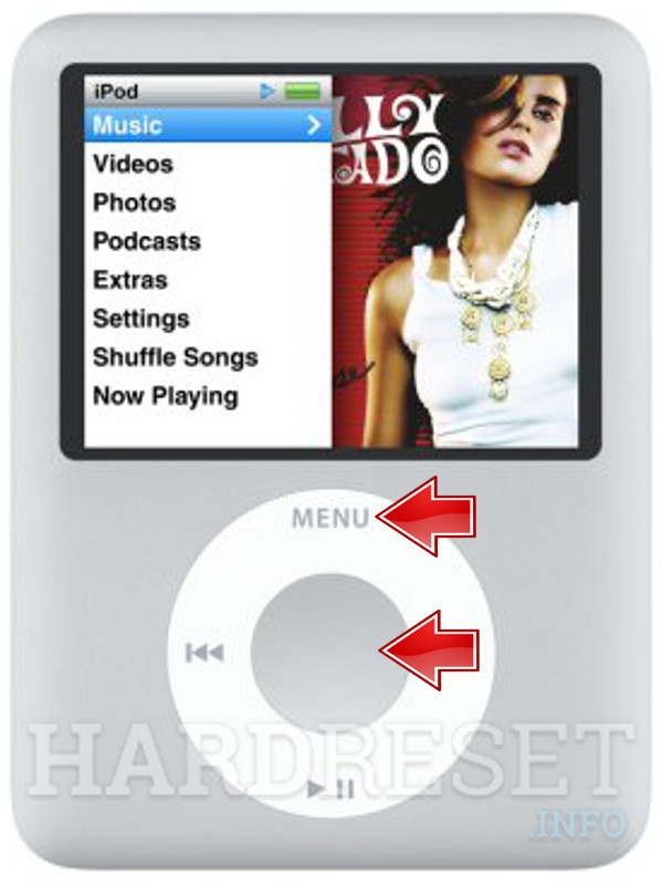 Factory Reset APPLE iPod Nano 3rd Generation
