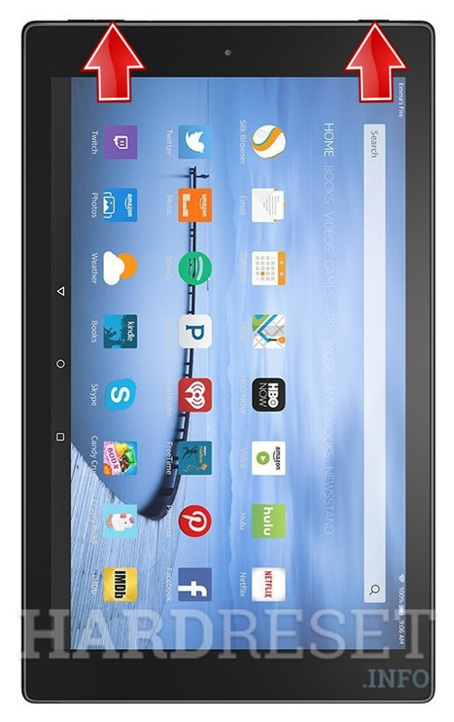 HardReset AMAZON Fire HD 10