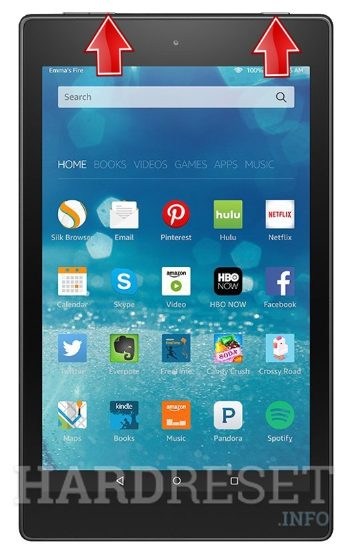 HardReset AMAZON Fire HD 8