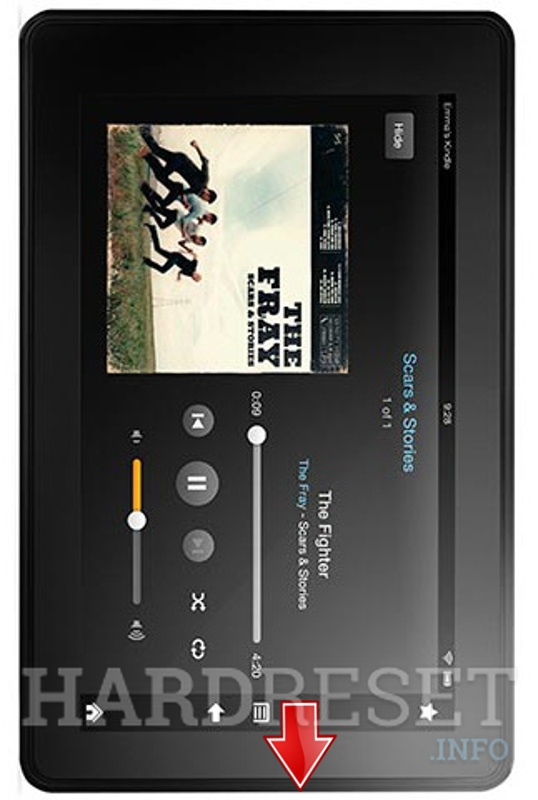 Master Reset AMAZON Kindle Fire HD