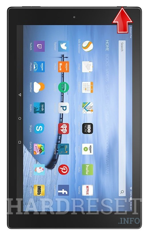Hard Reset AMAZON Fire HD 10