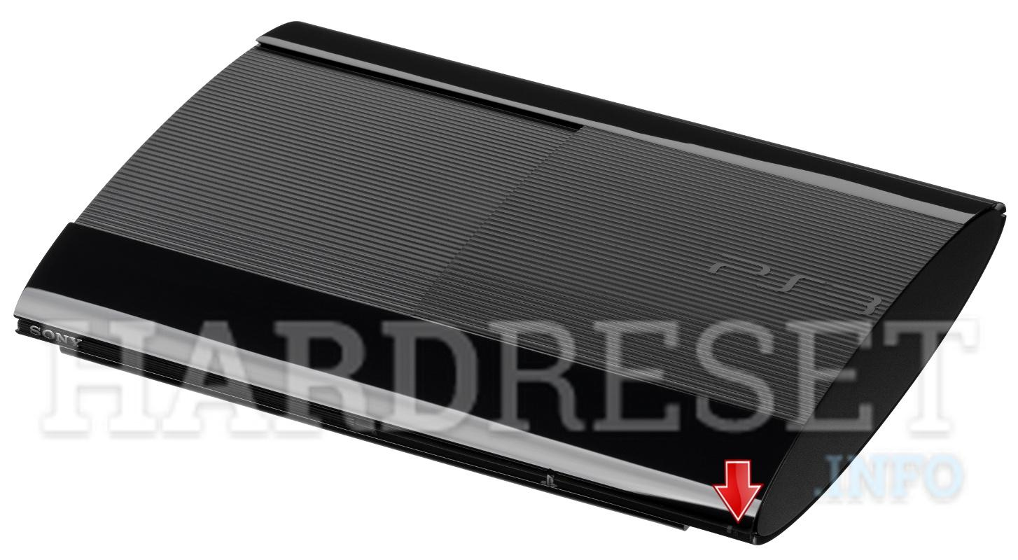 Hard Reset SONY PlayStation 3 Super Slim - HardReset info