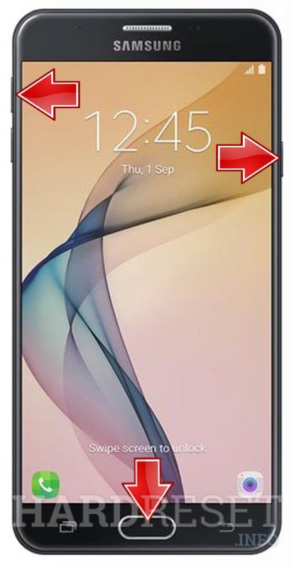 HardReset SAMSUNG Galaxy J7 Prime