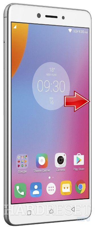 Hard Reset LENOVO K6 Note