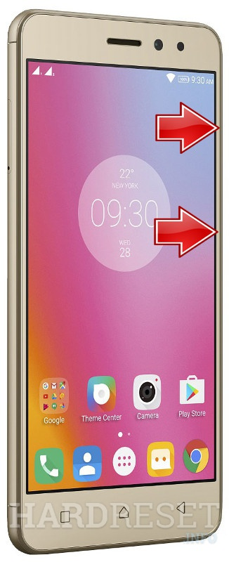 HardReset LENOVO K6 Power