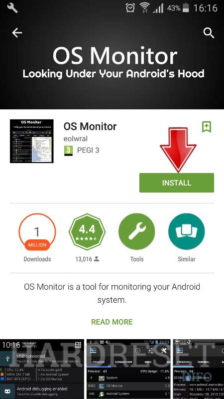 Install OS Monitor