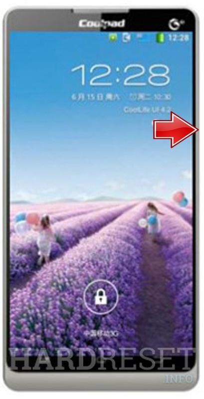 Hard Reset CoolPAD 8720Q