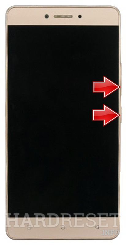 Remove screen password GIONEE M6 Mini