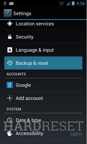 Remove screen password ALLVIEW P5 PRO