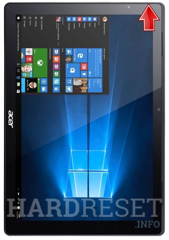 Hard Reset ACER SA5-271-71NX Switch Alpha 12