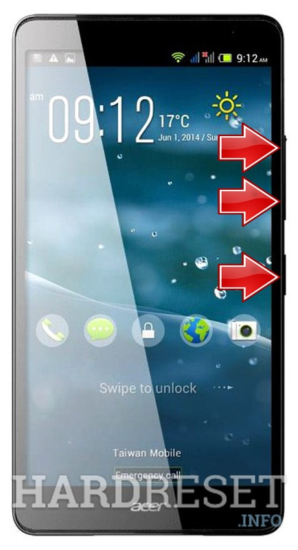 HardReset ACER Liquid X2 - Europe