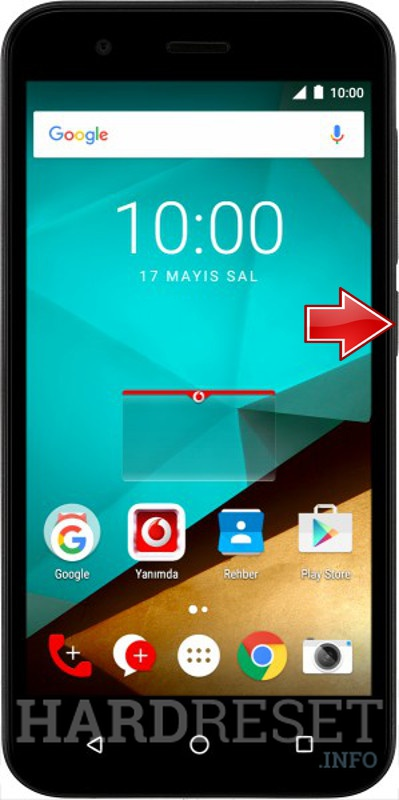 Master Reset VODAFONE Smart Style 7