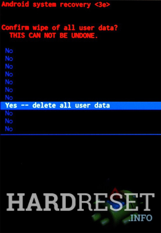 Wipe data BLU ADVANCE 4.5