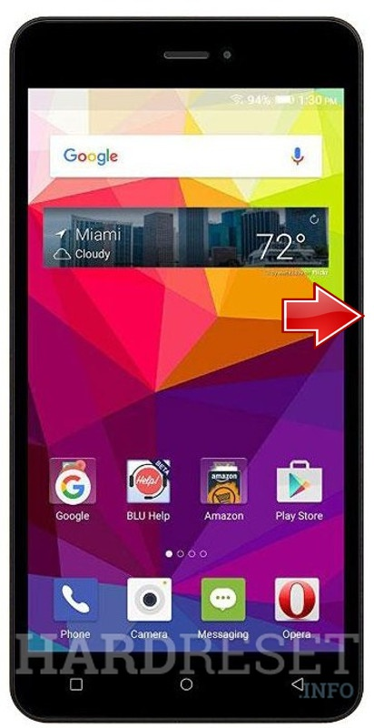 Hard Reset BLU Studio M HD S110L