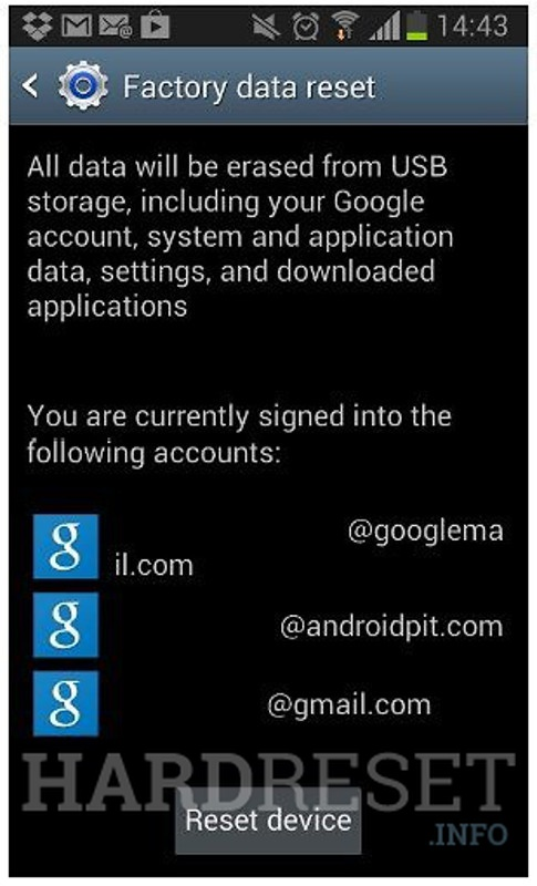 Permanently delete data from BLU Studio G HD