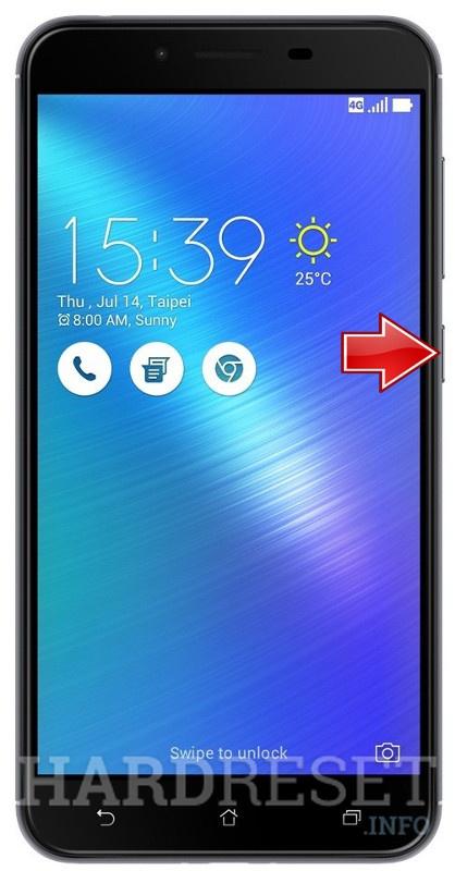 Recovery Mode ASUS ZenFone 3 Max ZC553KL - HardReset info