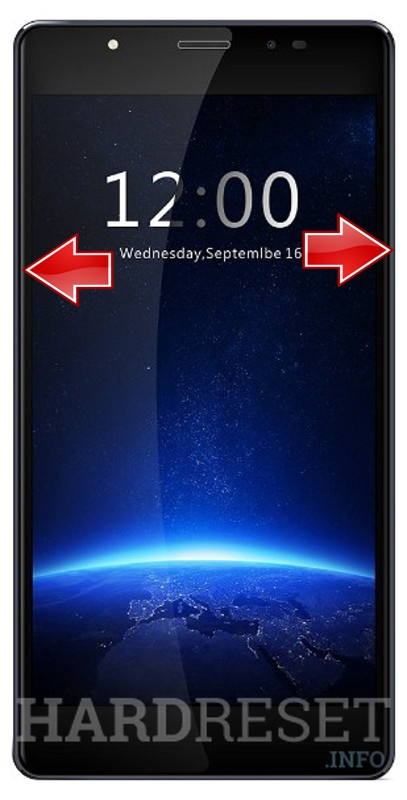 Remove screen password LEAGOO T1 Plus