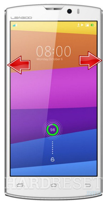 Remove screen password LEAGOO Lead 7