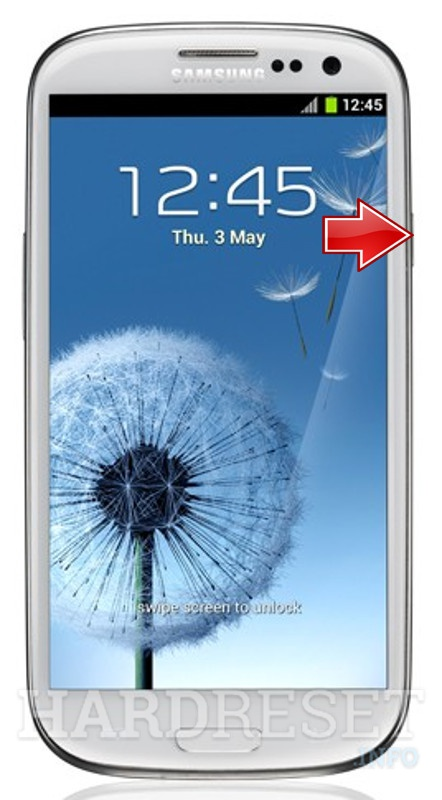 Remove screen password on SAMSUNG T999L Galaxy S III (T-Mobile)