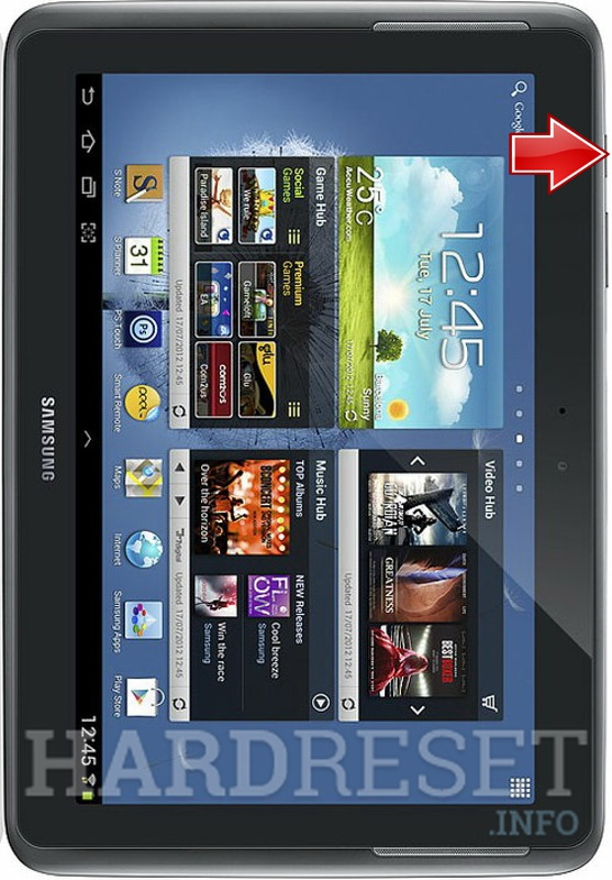 Hard Reset SAMSUNG E230L Galaxy Note 10.1 LTE