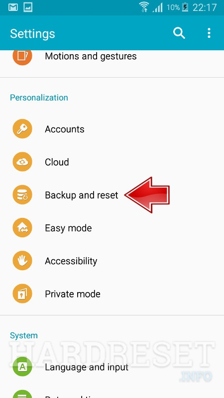 how to reset galaxy grand prime using download mode