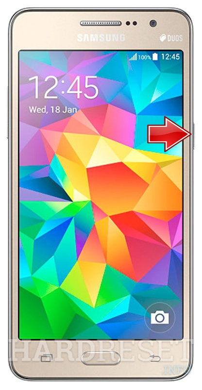 Hard Reset SAMSUNG G531H Galaxy Grand Prime VE