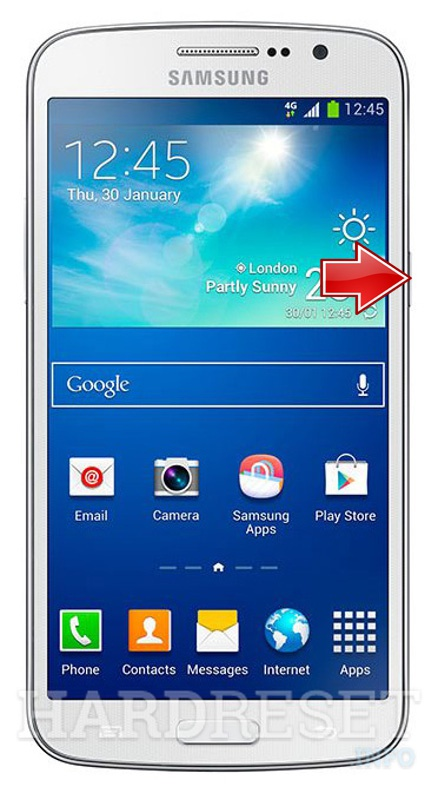 Hard Reset SAMSUNG G710L Galaxy Grand 2 LTE