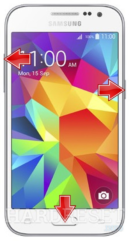HardReset SAMSUNG G360T Galaxy Core Prime LTE (T-Mobile)