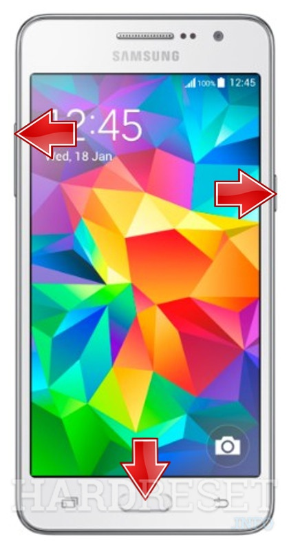 HardReset SAMSUNG G530BT Galaxy Grand Prime Duos TV