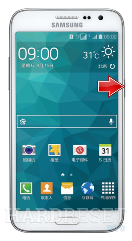 Remove Screen Lock on SAMSUNG G5109 Galaxy Core Max Duos TD-LTE
