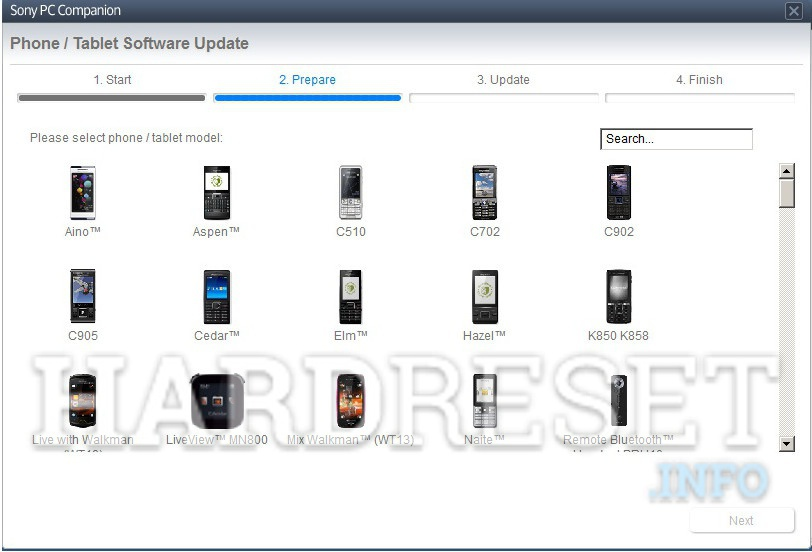 Remove screen password SONY XPERIA ION HSPA