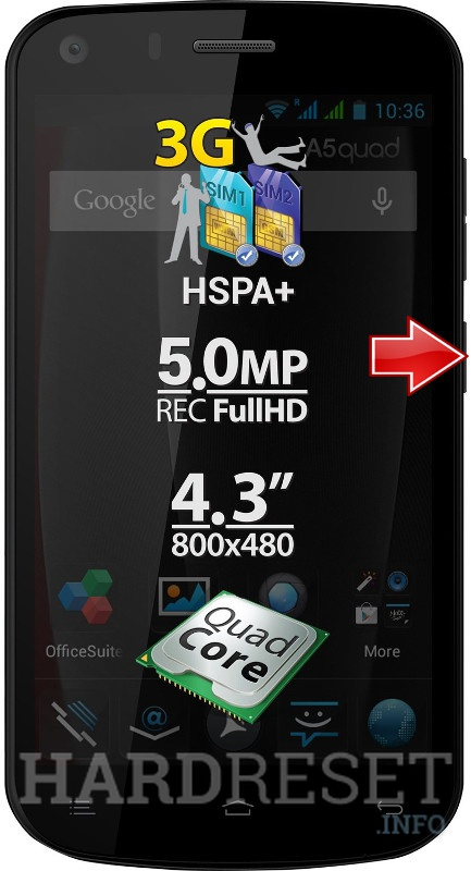 Hard Reset ALLVIEW A5 Quad