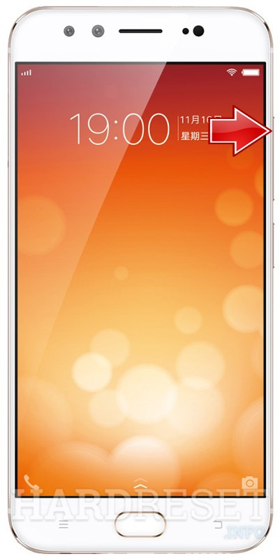 Factory Reset VIVO X9