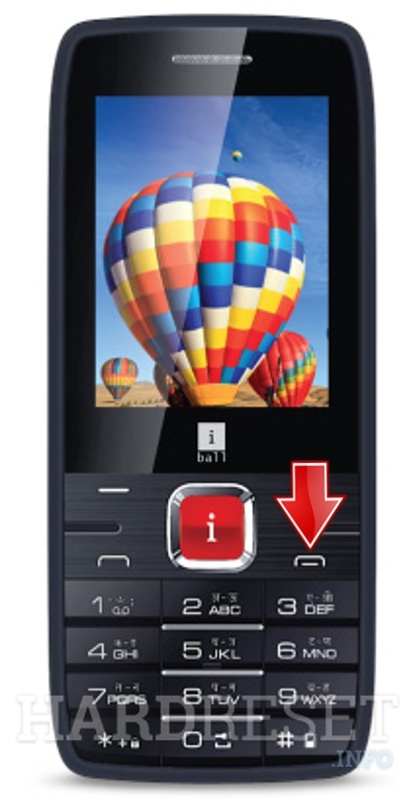 Hard Reset iBALL MAJESTIC 2.4D