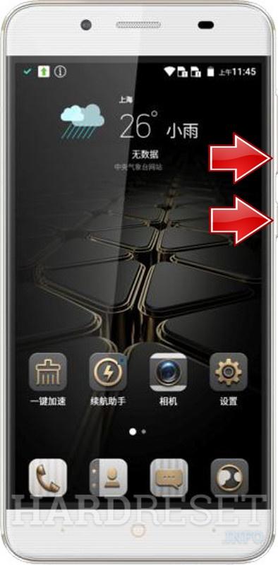 Factory Mode - ZTE Blade A610 Plus - HardReset info