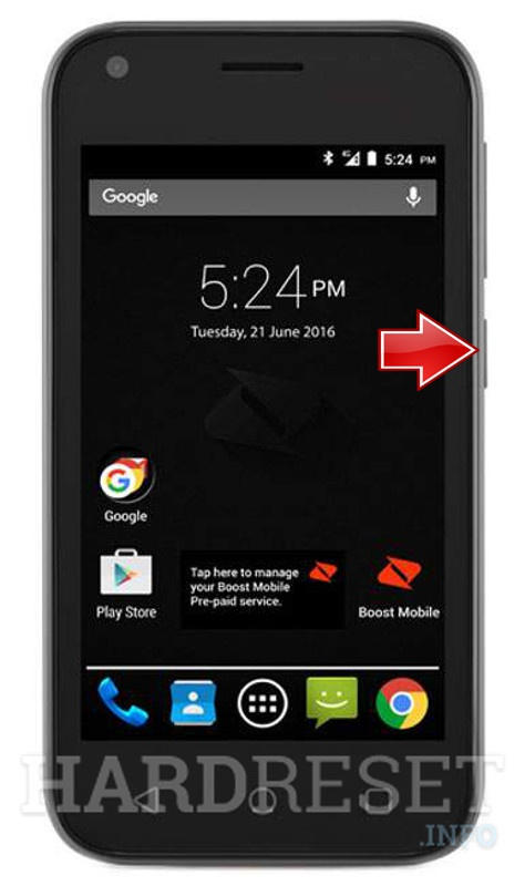 Mode Hardreset A112 info - To Blade Boot How Zte