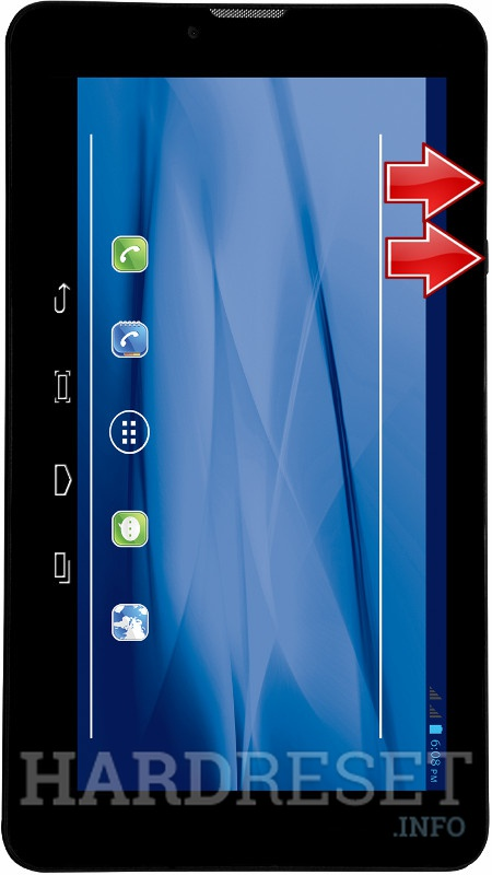 Permanently delete data from DATAWIND UbiSlate 7DC*