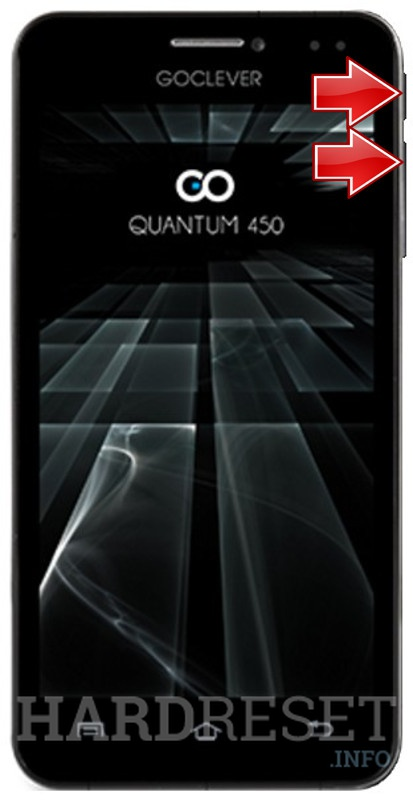 Permanently delete data from GOCLEVER Quantum 450